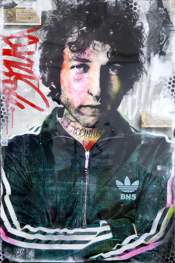 bob dylan graffiti bnswhat tattoos scope miami beach avant gallery